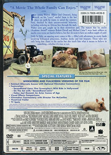 SECONDHAND LIONS (MOVIE)
