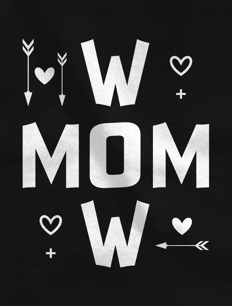 Tstars – Wow Mom for Moms Women Long Sleeve T-Shirt