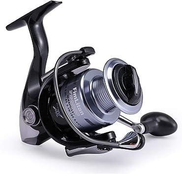 Shengdaoutdoor Carrete de Pesca 13+1BB Pesca Spinning Carrete ...