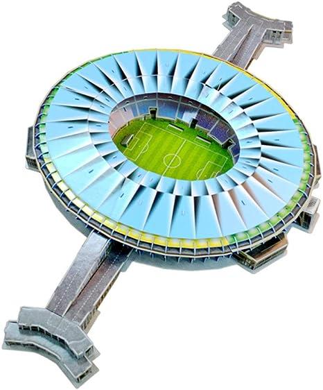 Estadio Deportivo Modelo 3D, Campo de fútbol de Brasil Maracaná ...