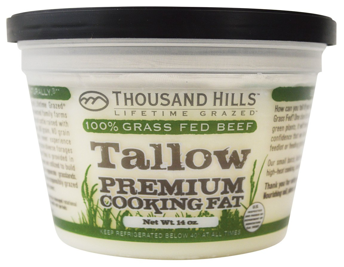 Tallow Premium Cooking Fat by Thousand Hills (Image #1)