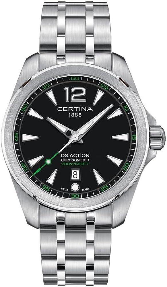 Certina DS Action Diver Reloj de hombre cuarzo 41mm de acero C032.851.11.057.02