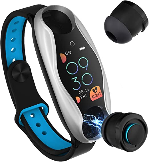WLPT SmartWatch, T90 Inteligente Reloj Auricular Bluetooth Doble ...