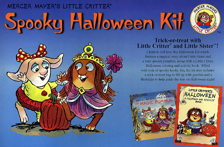Spooky Halloween Kit: A Story Book, a Coloring and Activity Book, a Flashlight, and a Trick-Or-Treat Bag (Little Critter) ()