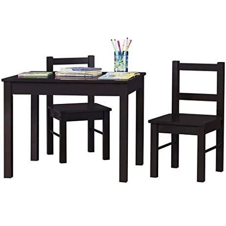 Attrayant Amazon.com: Kids Activity Table Set 3 In 1 Toddler Activity Table Set Chair  Espresso Preschool Activities Childrens Girls Boys Junior Craft Play  Playroom ...