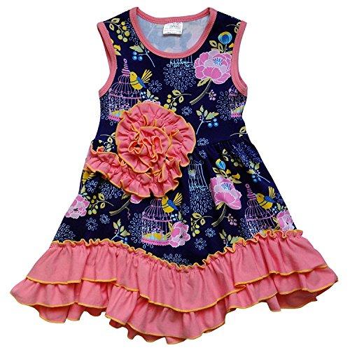 So Sydney Toddler Girls V-Front Boho Chic Style