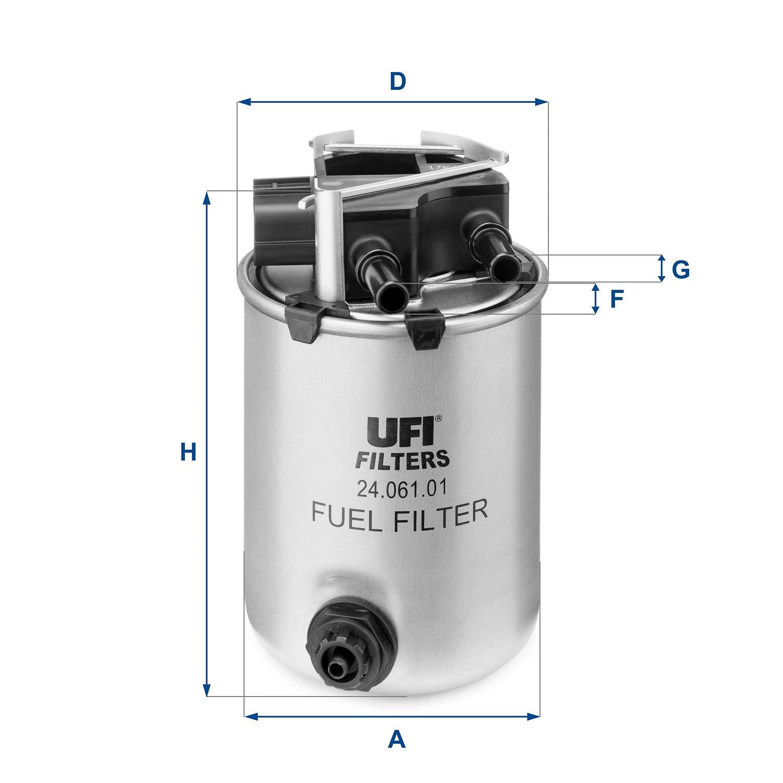 UFI Filters 24.061.01  Filtro Diesel