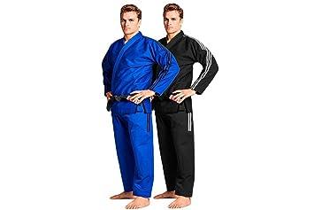 Adidas BJJ Brazilian Jiu Jitsu Contest WHITE Gi Uniform FREE Adidas Carry Bag
