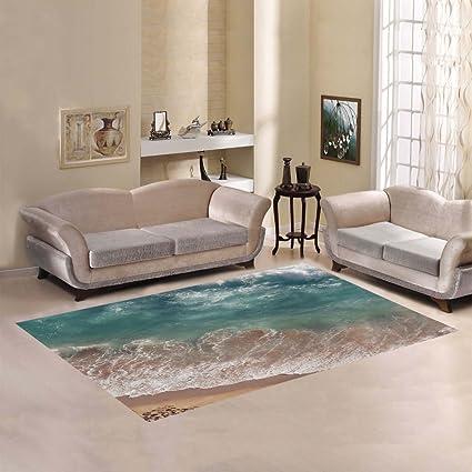 Amazon Com D Story Sweet Home Art Floor Decor Beach Sea And Ocean