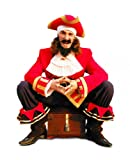 Wallmonkeys Pirates Chest Wall Decal Peel and Stick Graphic (30 in H x 24 in W) WM297581