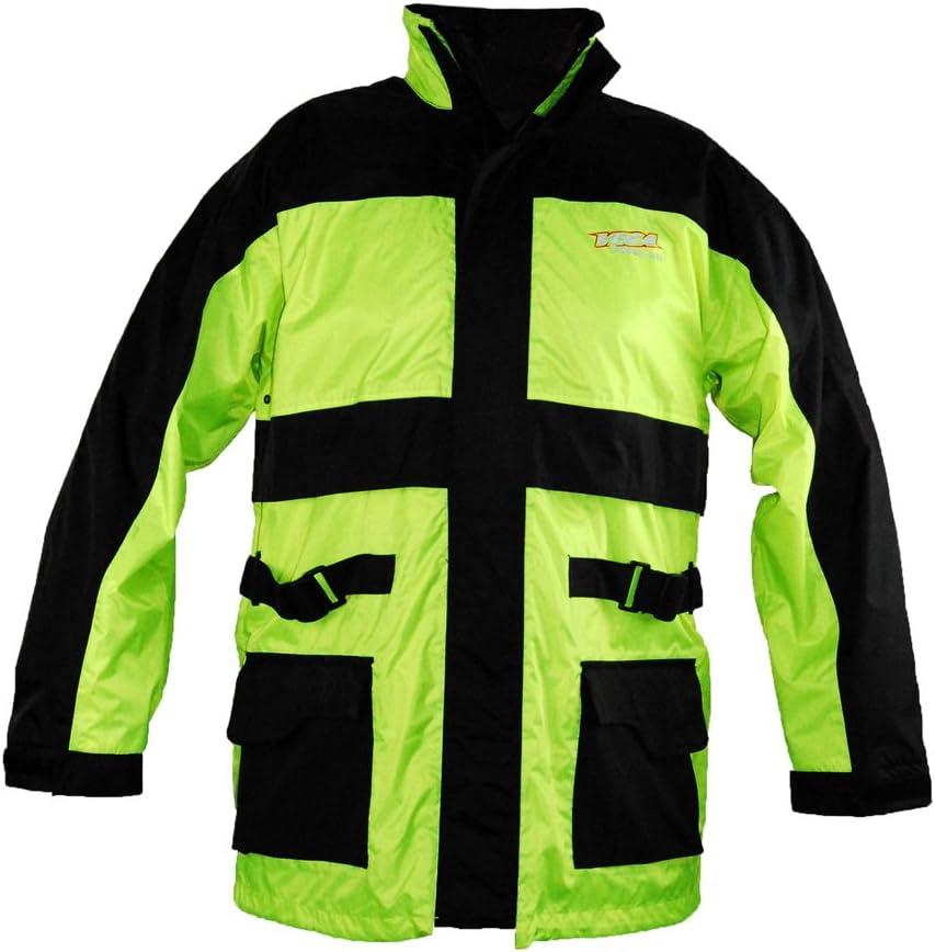 Vega Technical Gear Hi-Visibility Pack Jacket Yellow, XXX-Large 1000-517