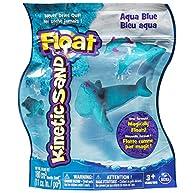 Kinetic Sand Float Reusable Pouch, Aqua Blue