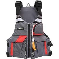 Sklepee Simväst för vuxna, multifunktionella flythjälpmedel badjackor - bärbar uppblåsbar flytväst för vattensporter…