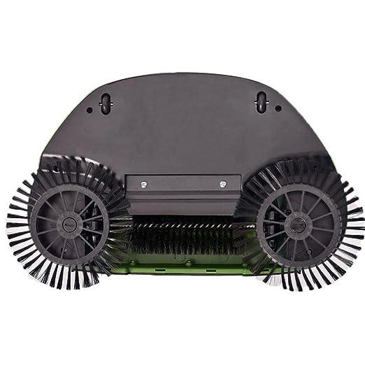 Turbo Smart Sweeper - Escoba giratoria de triple cepillo con movimiento giratorio a 360°, inalámbrica, sin corriente y sin ruido. Escoba de mano: Amazon.es: ...