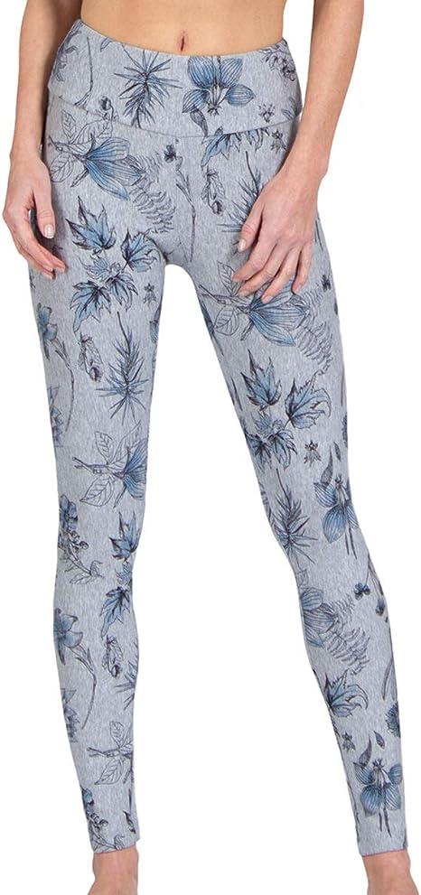Magadi Marie Floral - Leggings para mujer (algodón orgánico suave ...