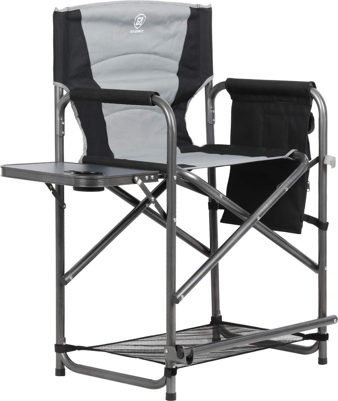 Makeup Chair Artist Professional Foldable Directors Light Black Folding Cosmetic