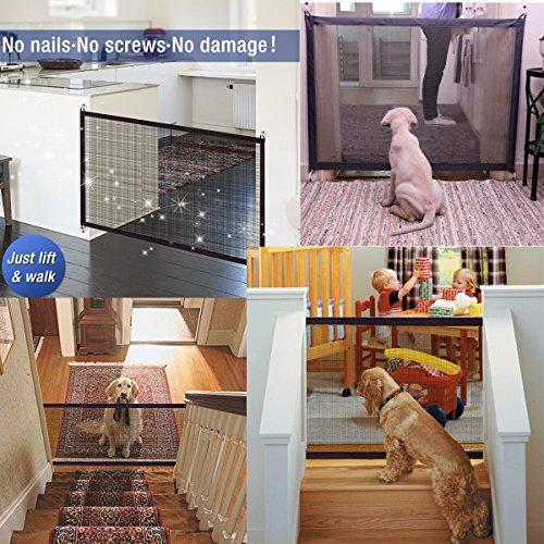 Magic Gate Pet Safety Guard Hengreda Dog Portable Folding