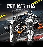 Knight equipment racing wrestling off-road electric motorcycle motorcycle knee-length leggings elbow