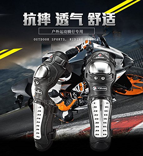 Knight equipment racing wrestling off-road electric motorcycle motorcycle knee-length leggings elbow by YARUIFANSEN