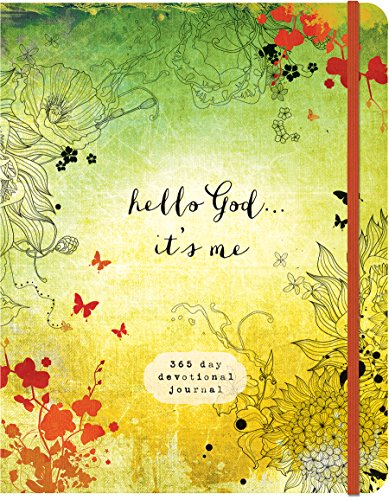 Hello God...It's Me: A 365-Day Devotional Journal (Devotional Inspiration)