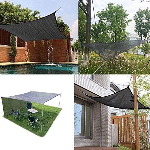 Shade Verrekening 80% Sunblock Covering Doek UV-bestendig Fabric Mesh Tarp for Greenhouse plant zon Windbreak Sail Vastgebonden Edge met Grommets inbegrepen (Size : 5 * 10m)