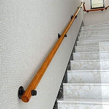 Interior y exterior de madera Escaleras Baranda, antideslizantes Barandilla apoyabrazos adecuado for villas Bares Corredor Canal 1 pie-20 pies 0811 (Size : 3ft/90cm): Amazon.es: Bricolaje y herramientas