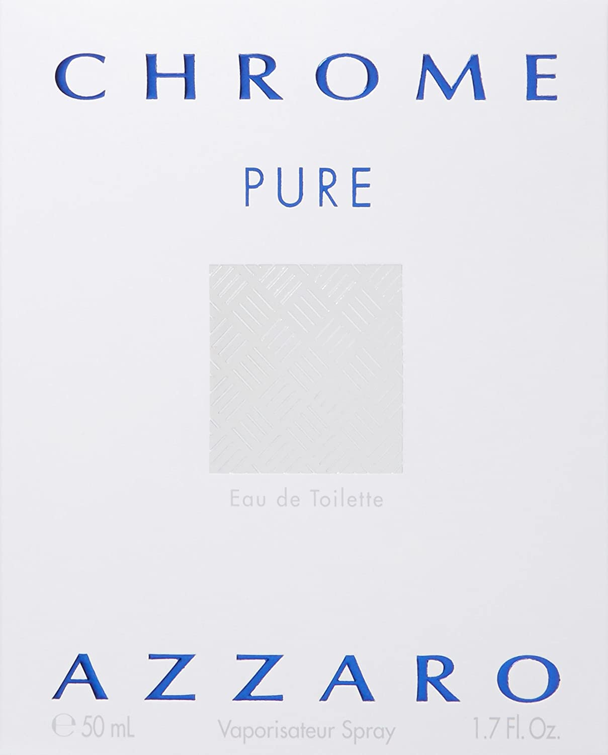 Azzaro Chrome Pure 1.7 Ounce Eau De Toilette
