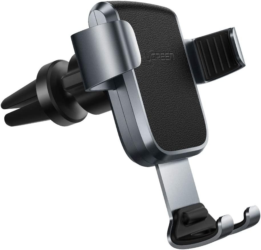Samsung S20 S10 S9 A70 A51 A20e A71 A10 UGREEN Magnetic Car Phone Holder Air Vent Mount Mobile Magnet Clip Stand Cradle Compatible for iPhone 11 Pro Max XR XS X 8 7 SE