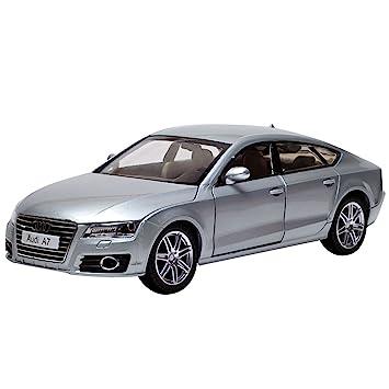 Amazon Com Car Toys 1 24 Silver Audi A7 Model Car Baby