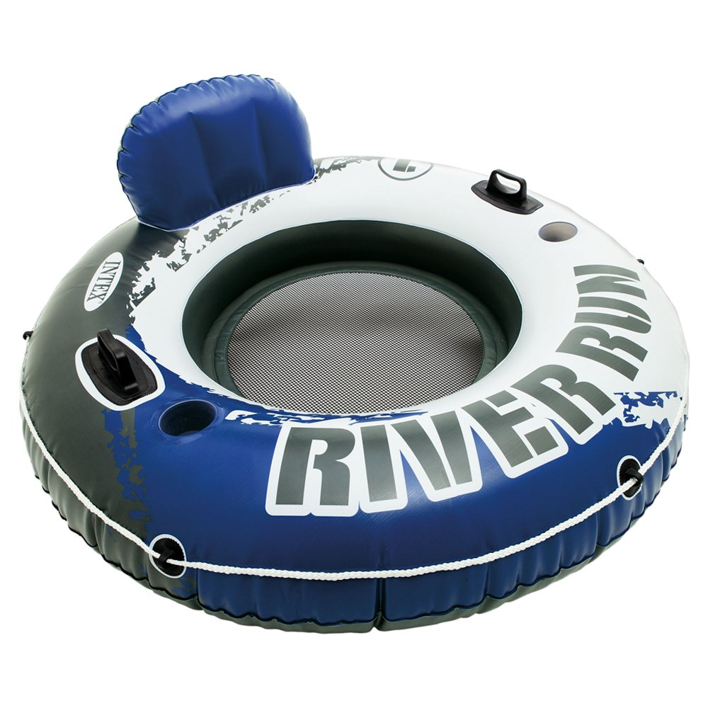 Intex River Run Connect Inflatable Floating Lounge Water And Tubes Raft Swimming