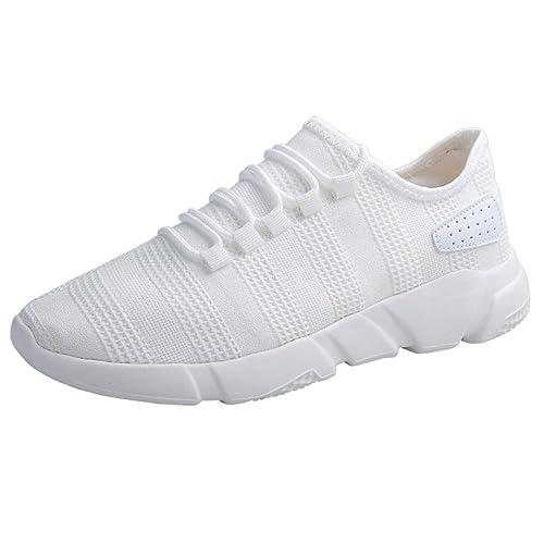 Logobeing Zapatillas Deporte Hombres - Zapatillas de Deporte Hombres Zapatos de Gimnasia para Caminar de Peso Ligero Zapatillas de Deporte Casuales Zapatos ...