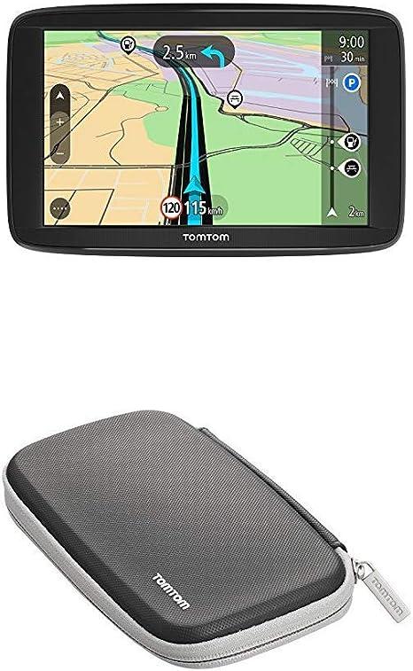 Tomtom Start 62 Pkw Navi 6 Zoll Mit Eu Karten Resistivem Display Tomtom Schutzhülle Navigation