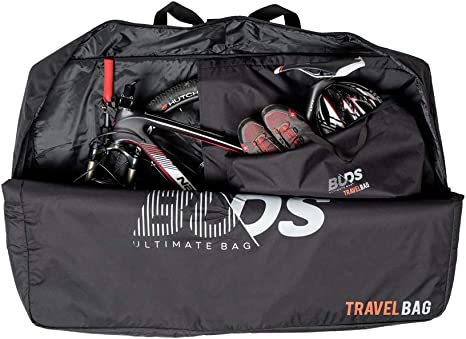 Buds-Sports TRAVELBag - Funda de Transporte y Viaje Acolchada para Bicicleta de montaña: Amazon.es: Deportes y aire libre