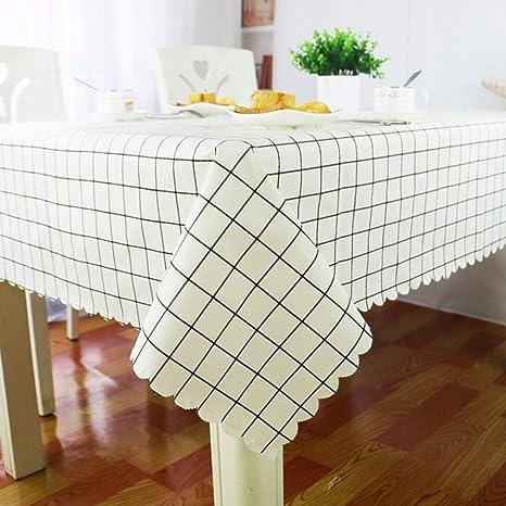 XHC Mantel Impermeable Rectangular Blanco, Paño Limpio Limpio ...