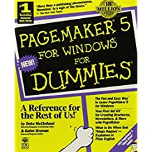 Pagemaker 5 for Dummies by Deke McClelland (1994-07-03)