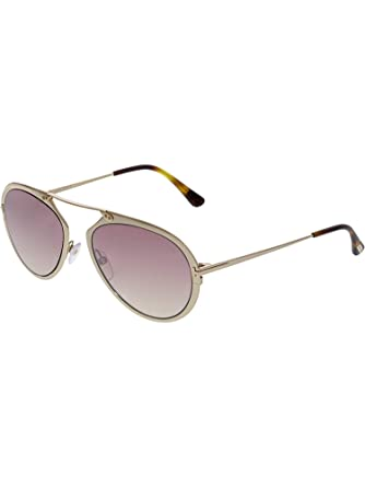 64596f3bf852a Image Unavailable. Image not available for. Color  Sunglasses Tom Ford  DASHEL TF 508 FT 28Z shiny rose gold ...