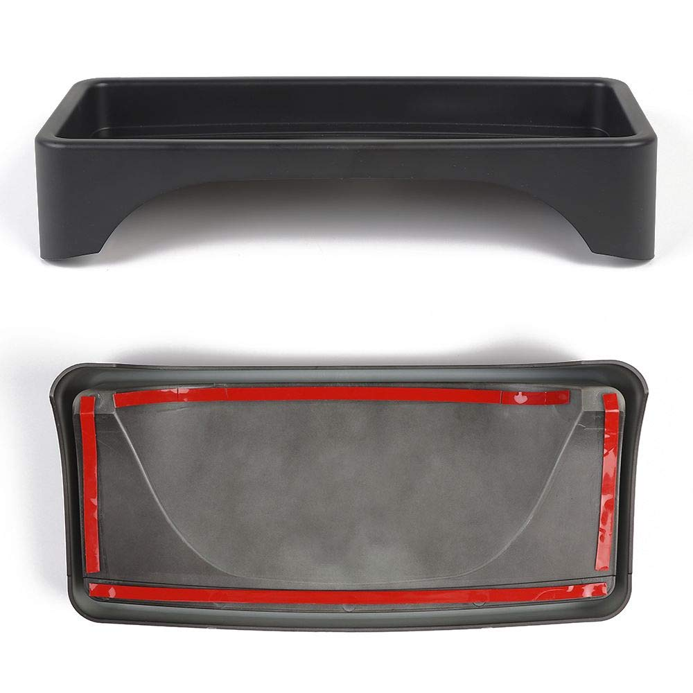 RT-TCZ JK Dashboard Storage Organizer Tray Phone Sunglasses Box Container for 2007-2010 Jeep Wrangler JK JKU Unlimited