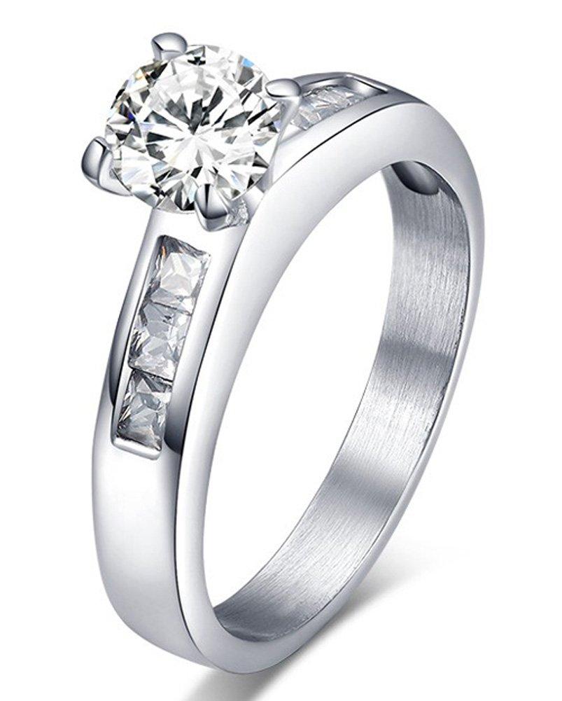 SaySure - Stone Wedding Rings For Women Engagement