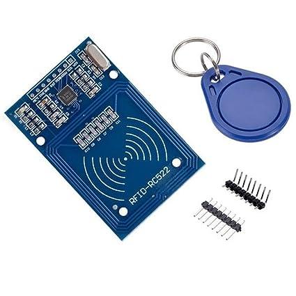 Amazon com: Mifare RC522 RFID Sensor Module Kits with Card Reader