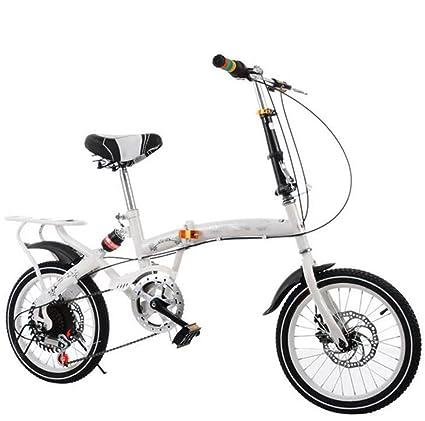 Bicicleta Plegable Para Adultos Bicicleta De Montaña De 20 Pulgadas Para Hombres Y Mujeres Bicicleta Bicicleta