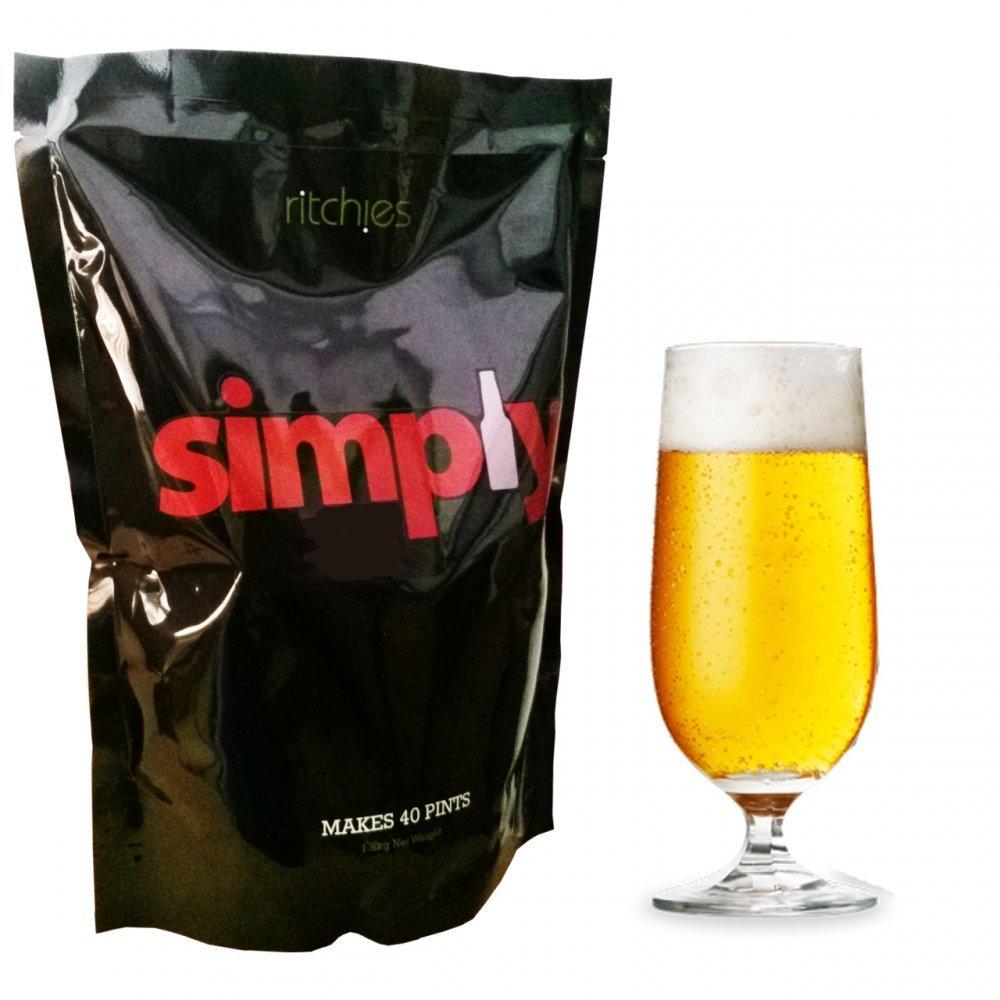 """Bier-Set """" Simply Pale Ale"""" , 1,8 kg Ritchies"""