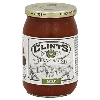 Clint Salsa Mild Texas Salsa