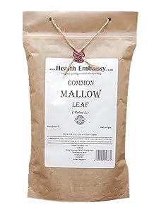 Common Mallow Leaf (Malva L. - Malvae Silvestris Folium) Health Embassy - 100% Natural (100g)