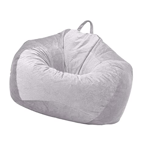 Astounding Amazon Com B Blesiya Adult Teen Size Bean Bag Chair Cover Ibusinesslaw Wood Chair Design Ideas Ibusinesslaworg