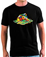 Camiseta Big Bang Theory Cubo de Rubik Fundido Sheldon