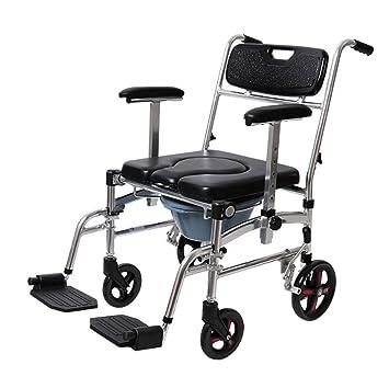 M-CH silla de ruedas Silla de la cómoda de la aleación de aluminio con