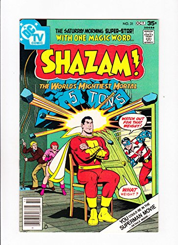 Shazam No.31 1977 1st DC Appearance Minute-Man