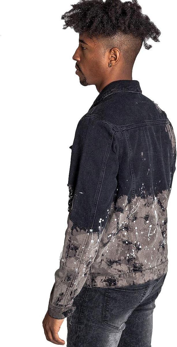 KDNK Painters Distressed Denim Jacket