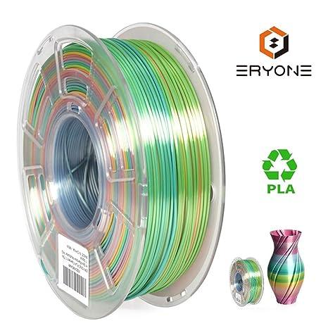 Erione Rainbow PLA Filamento 1.75 mm para impresora 3D 3D ...