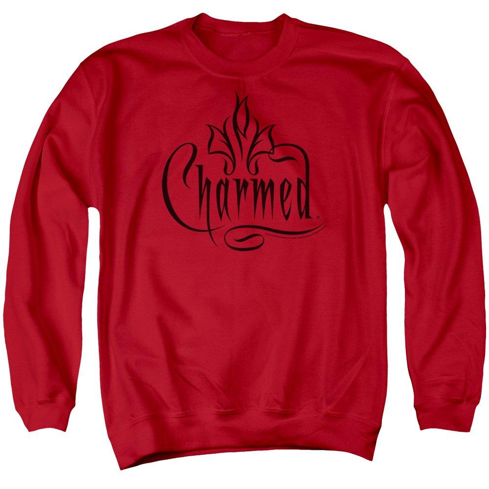 Unbekannt Charmed Herren Sweatshirt Opaque Rot rot